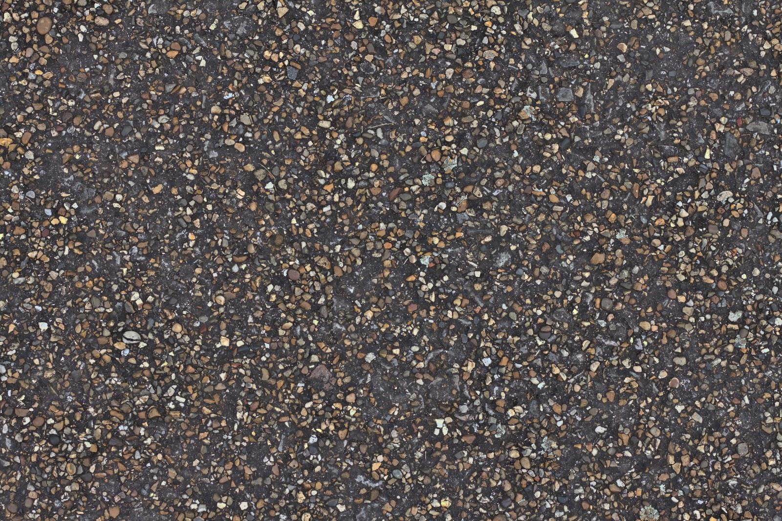 Concrete pebble stone walkway pathway texture ver 1