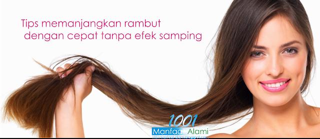 Tips Cara Memanjangkan Rambut Dengan Cepat dan Alami