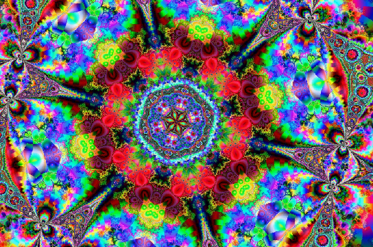 Kaleidoscope Screensaver