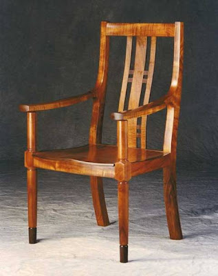 Rocking Chair, Wood Furniture by Alan Wilkinson
