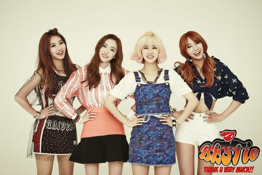 BESTie say 'Thank You Very Much' on M! Countdown   Daily K Pop News