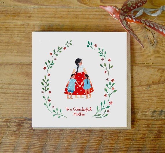 Ma Bicyclette: Buy Handmade | Mother's Day Cards - Jade Fisher