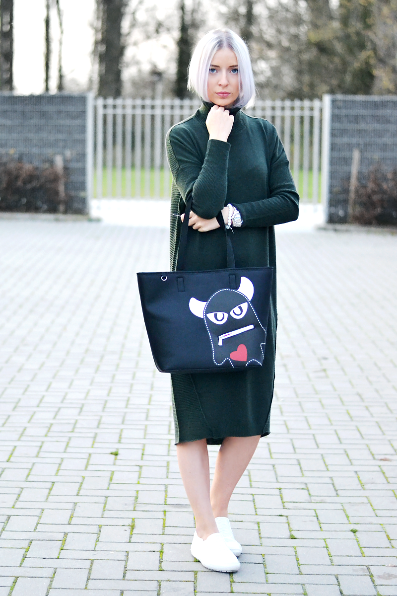 The maxi jumper dress