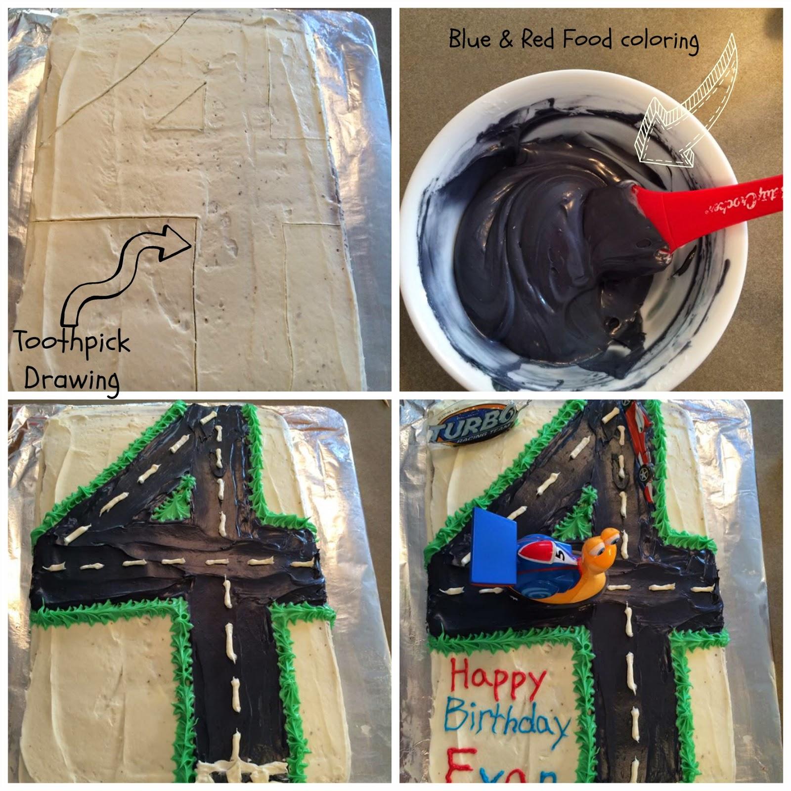 Easy Turbo cake tutorial