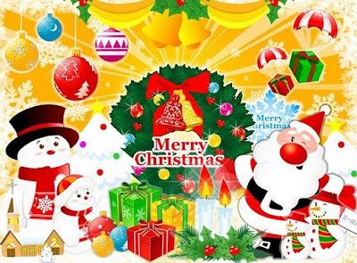 Kartu Ucapan Selamat Hari Natal 2012