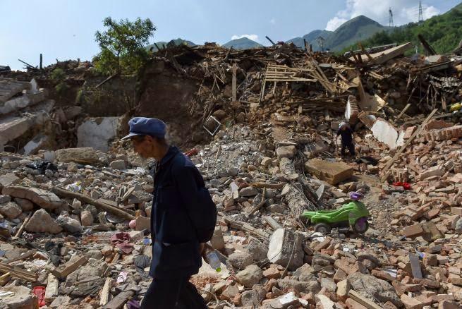 TERREMOTO EN CHINA DEJA 615 MUERTOS