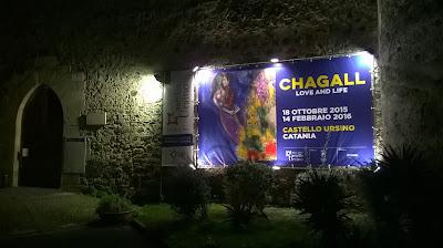 guida turistica catania chagall