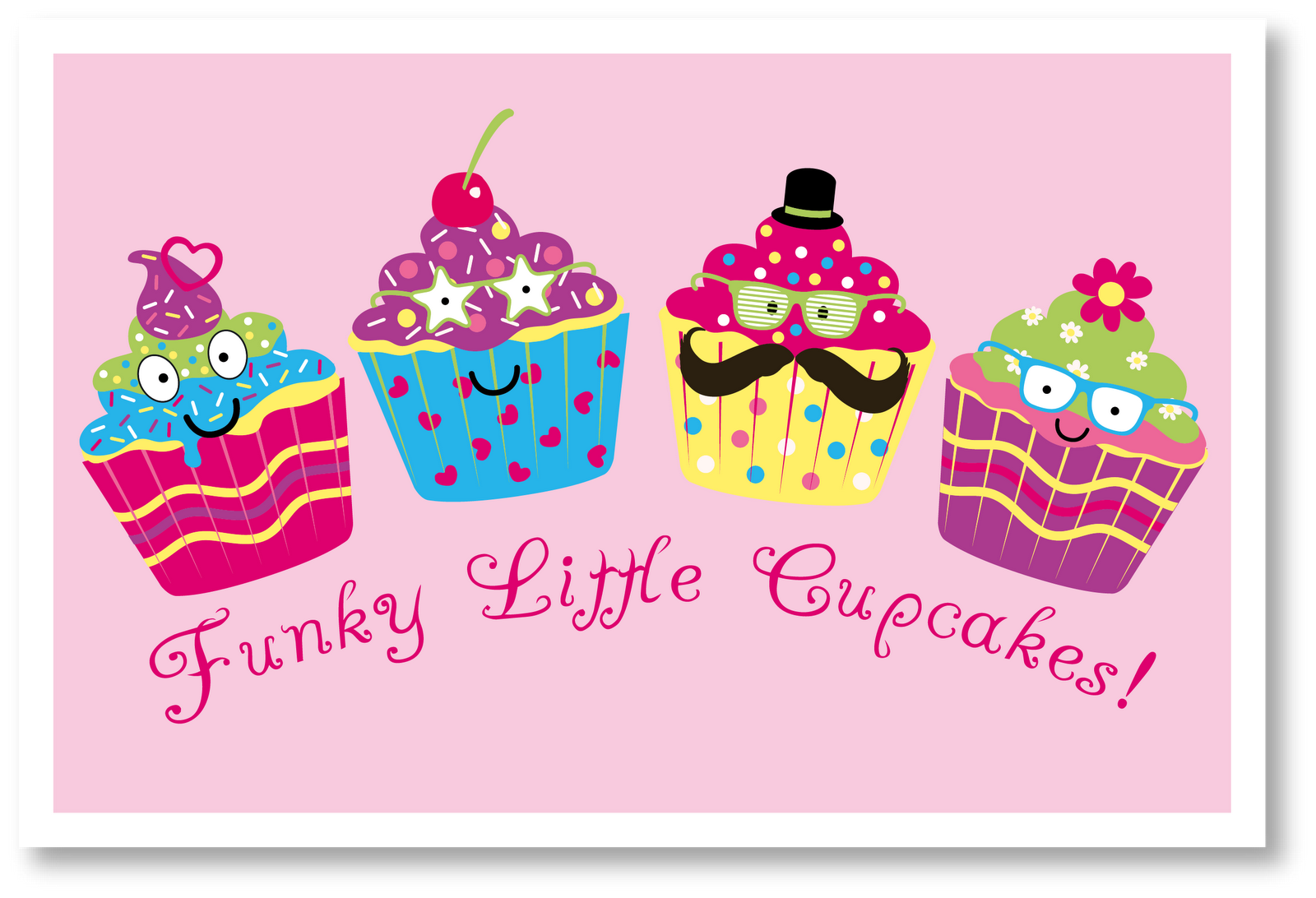 Simplicity image for printable cupcakes