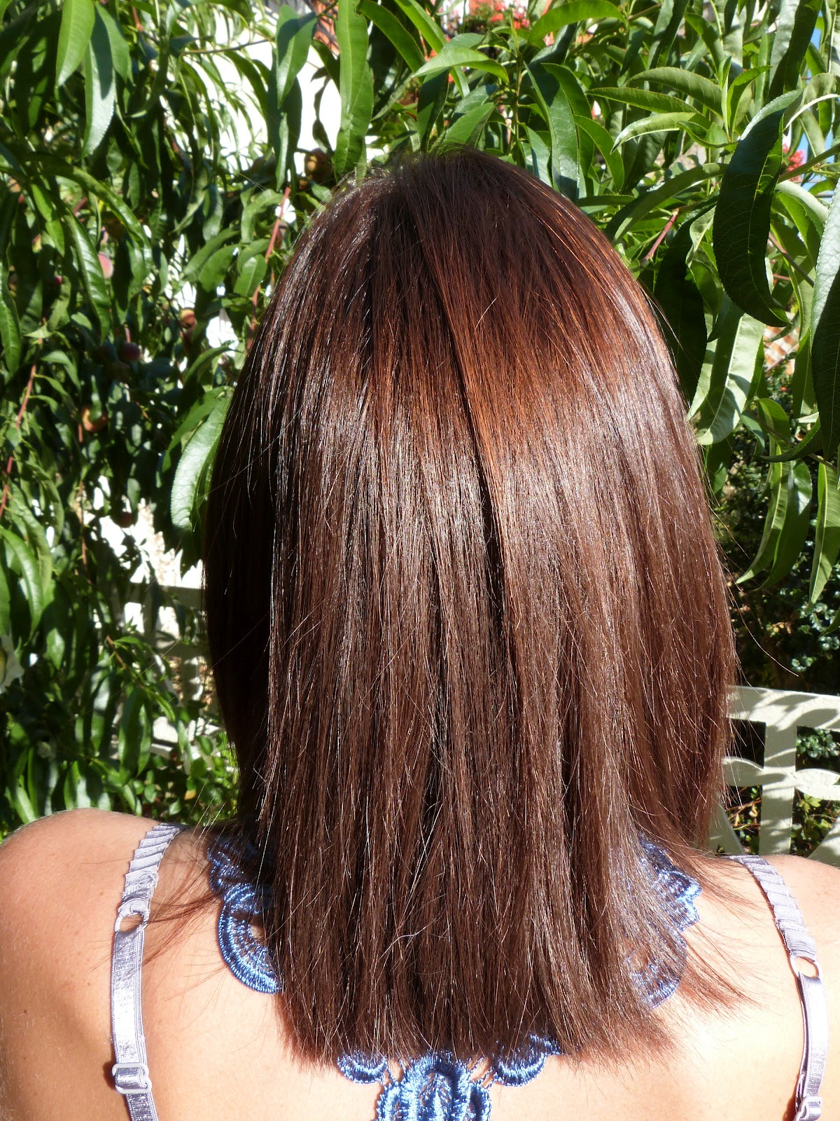 casting crme gloss chocolat sur cheveux chtains mchs miel - Coloration Gloss Chocolat