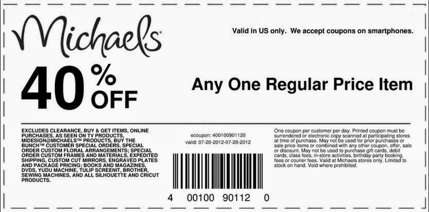 Michaels Coupon Code Michaels Printable Coupon Code55 Off Michaels