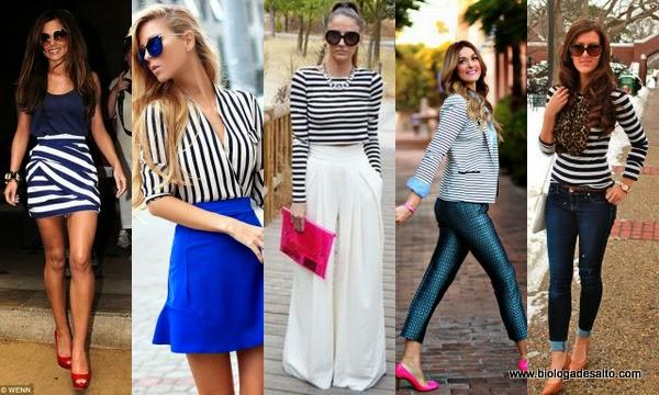 stripes street style