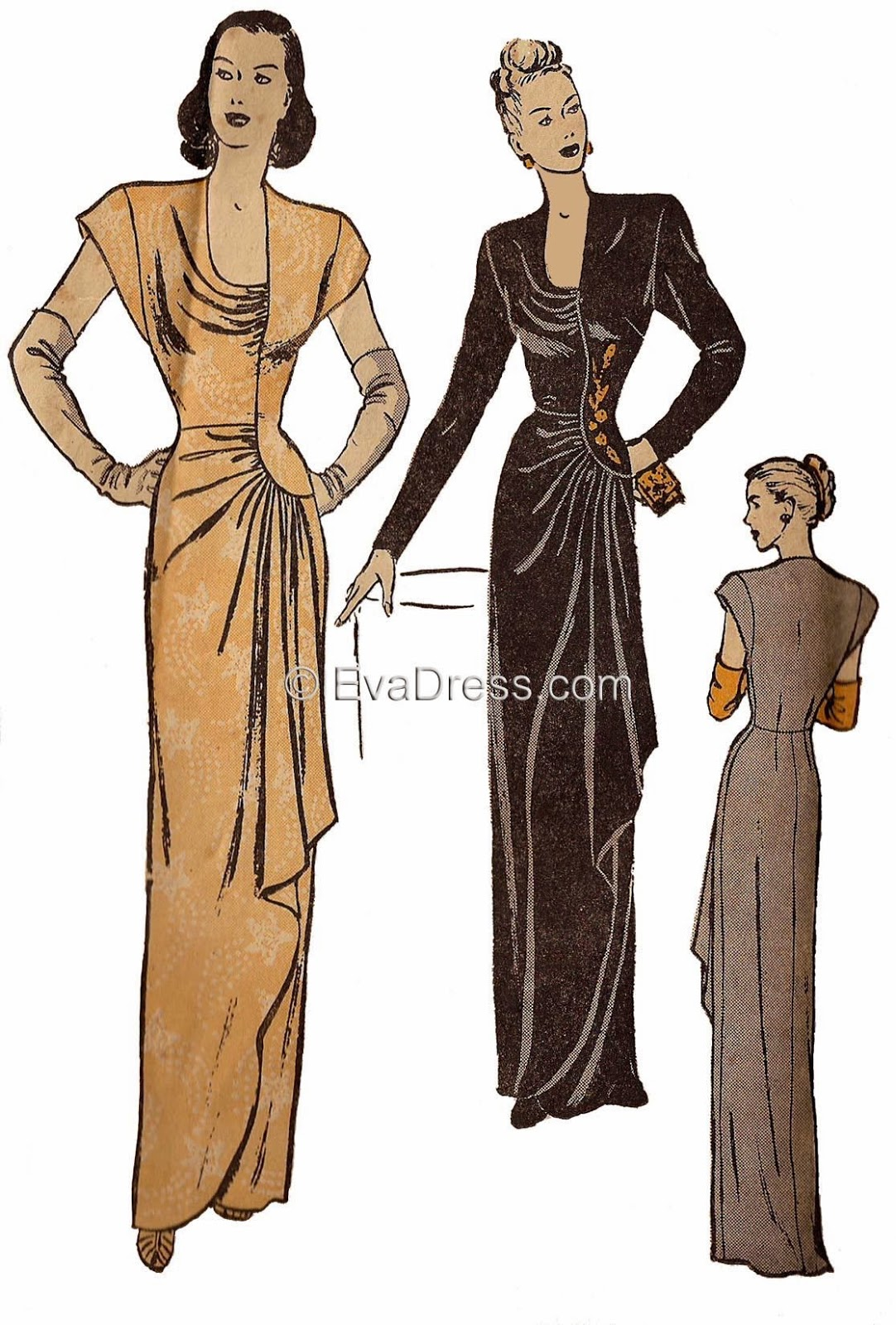 Petit main sauvage vintage sewing pattern pledge 2015 ive picked out these beauties from the 1930s and 40s so perfectly in line with my goal for this year these are exciting in a whole different way this jeuxipadfo Choice Image