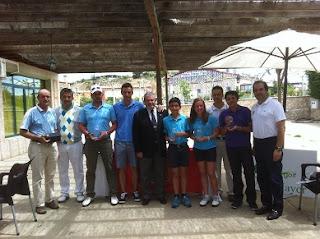 Ganadores del II Puntuable Pitch & Putt Castilla Leon en Villa Mayor
