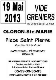 9 ème vide-greniers du centre social La Haüt.