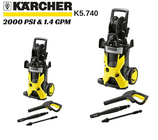 Karcher X-Series K5.740 2000 PSI Electric Pressure Washer