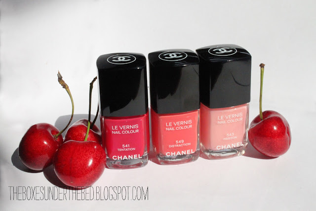 Chanel Le Vernis Tentation, Distraction and Frisson