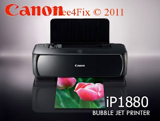Repair or Reset Canon iP 1880