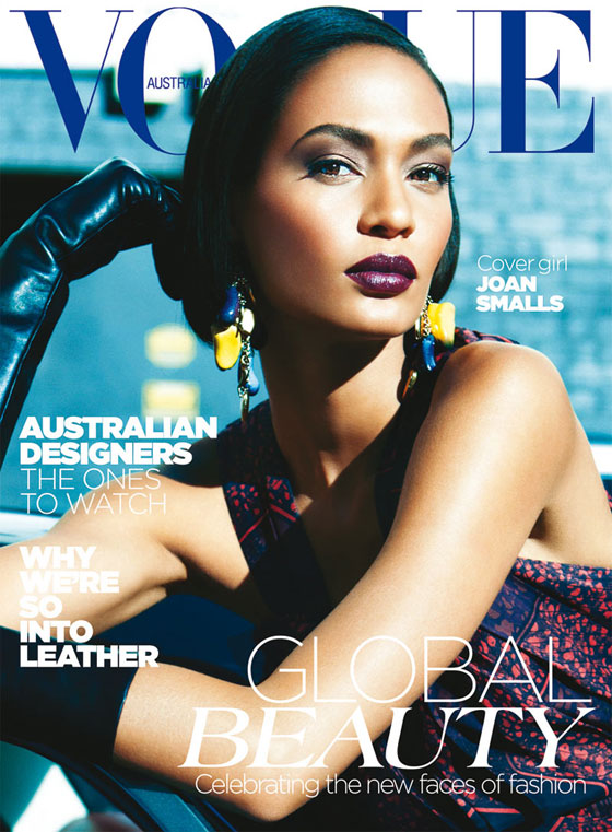 Vogue Australia Joan Smalls