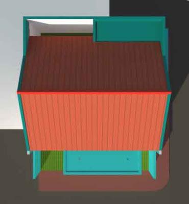 Desain Rumah Minimalis Type 21/60 Hook Atas