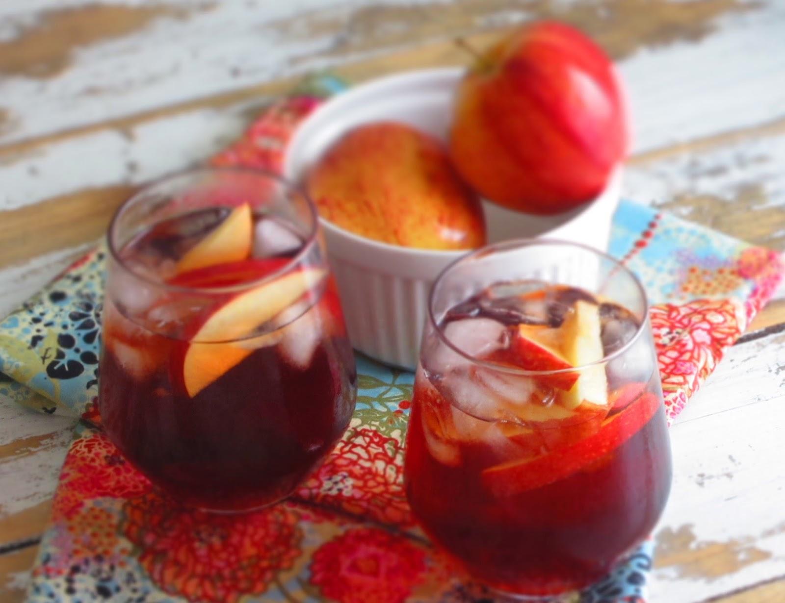 Thé glacé à la pomme -Idéale pour la rentrée-