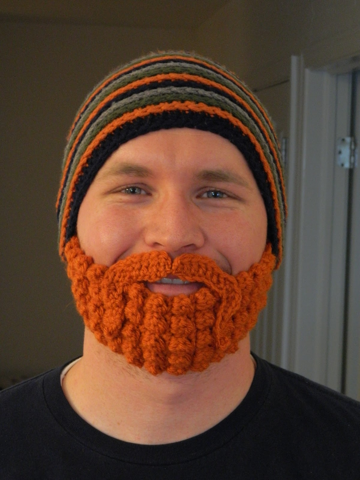 Crochet Pattern Mustache Hat : The Worsted Crochet Blog: December 2012