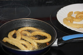 Receta de churros casera