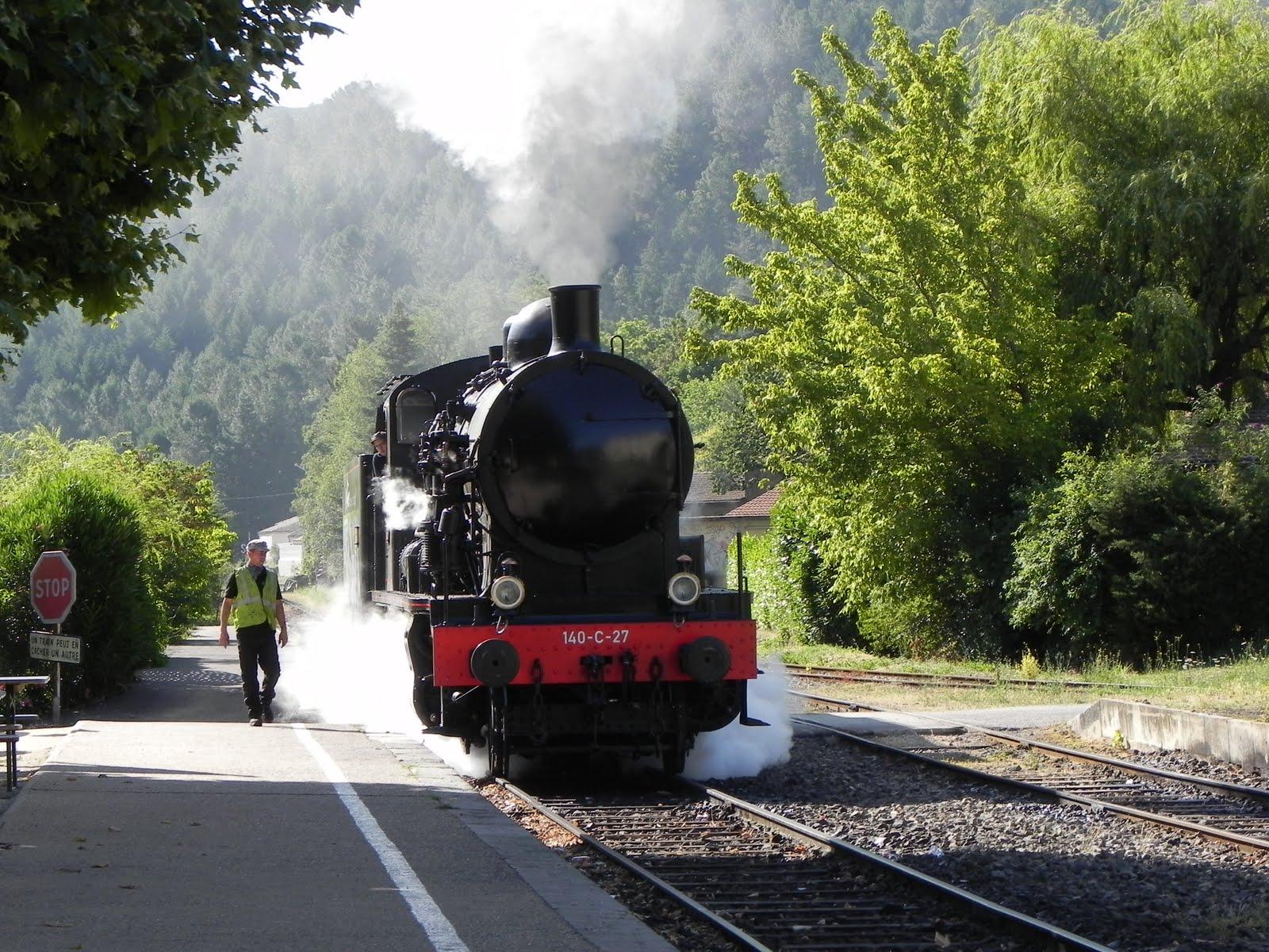 Tourisme en France : le retour du train à vapeur des Cévennes Anduze%2Btrain%2Bvapeur%2B%2B140%2BC%2B27%2B034