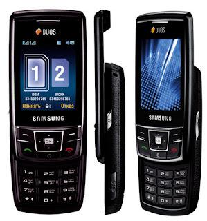 Primeiro celular da samsung com 2 chips