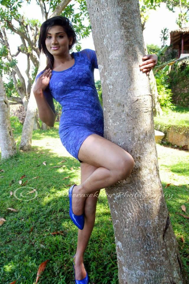 Thilini Gunasekara milky legs