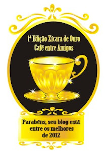 PRESENTE DO BLOG CAF ENTRE AMIGOS