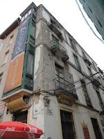 edificio histórico en ruina, calle Don Juan de Málaga 1