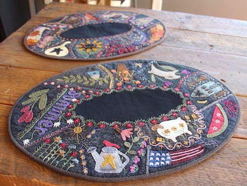 quilt - podkladki pod talerze