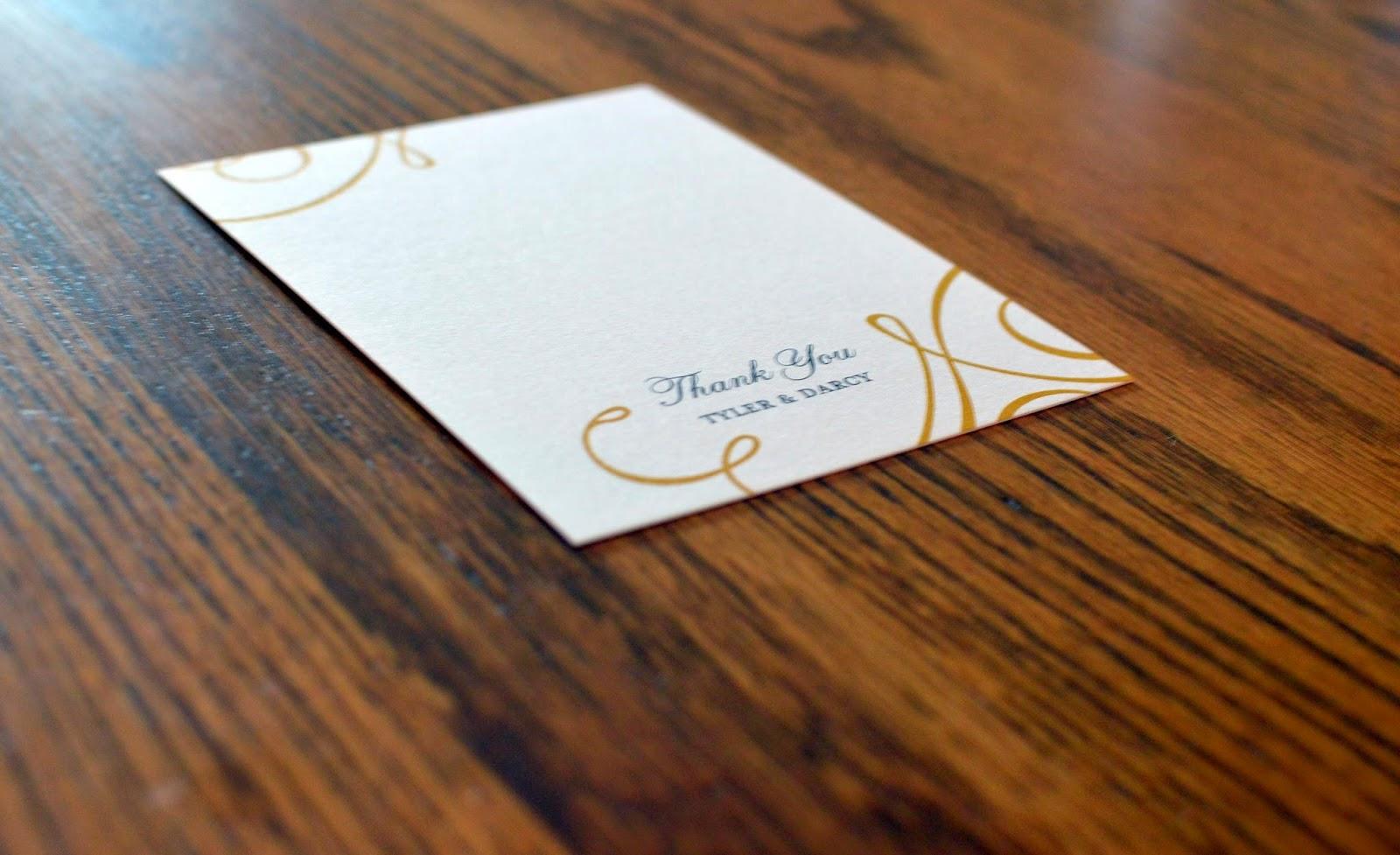 A Memory Of Us wedding paper divas thank you and place cards – Wedding Paper Divas Thank You Cards