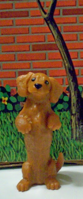 Spin Master Liv 1:6 scale dachshund from Hayden's Pet Adoption Center