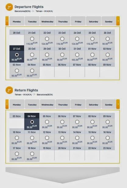 Oferta de vuelos Tehran