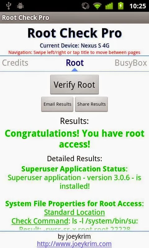 Root Checker Pro v3.95.1.0 Patched