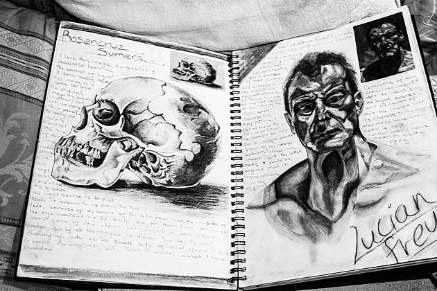 art class blog  sketchbook approaches
