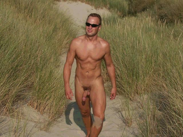 Nudist camping sites
