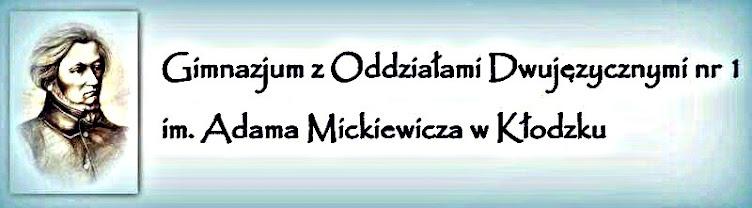 Gimnazjum z Oddziałami Dwujęzycznymi nr 1 im. A. Mickiewicza w Kłodzku