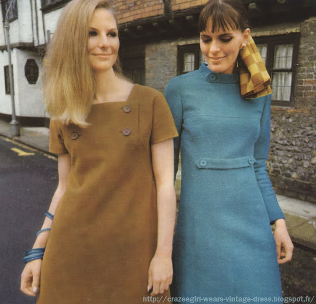 1967 Jean Patou dress 60s 1960 mod