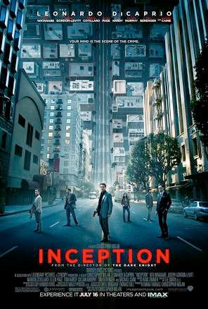 Affiche de Inception, de Christopher Nolan