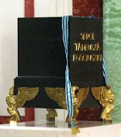 Urn containing Tadeusz Kosciuszko's heart