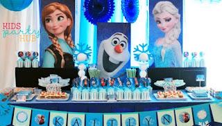 Dekorasi Ulang Tahun Anak Tema Disney Frozen
