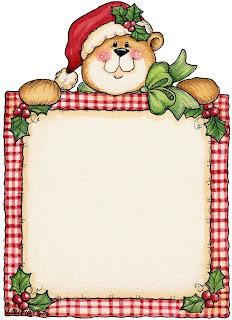 Imagens para decoupage de natal - moldura natalina