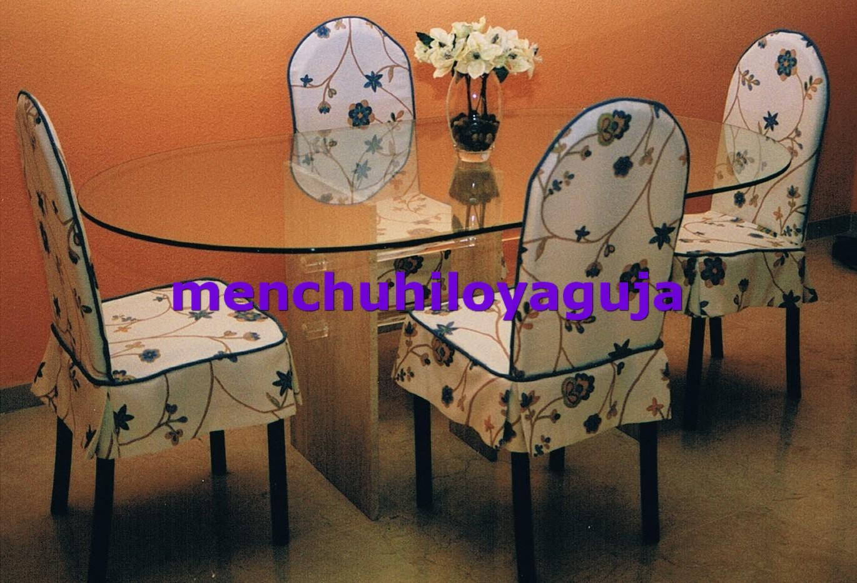 Patrones de costura fundas para sillas 1 - Fundas asiento sillas comedor ...