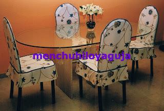 Patrones de costura fundas para sillas 1 for Fundas asiento sillas comedor