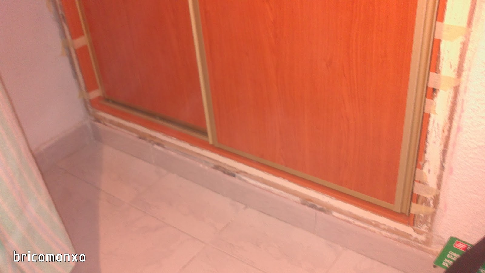 BRICOMONXO: Armario empotrado (con puertas correderas)
