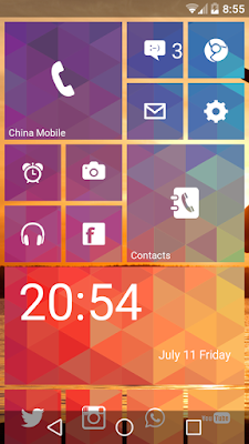 Windows 8 Launcher Android