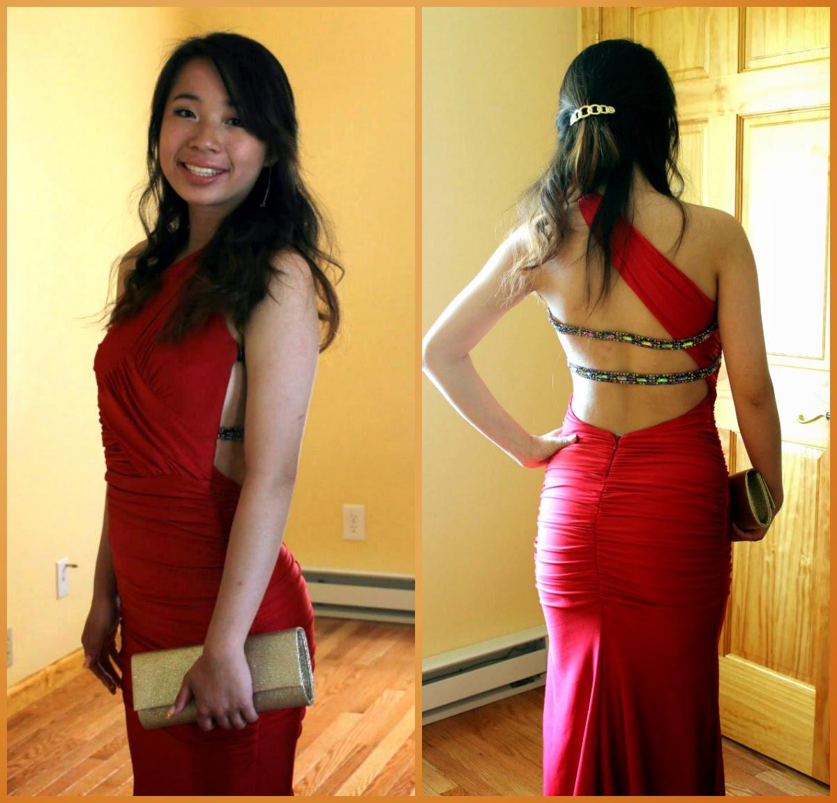 Atria One Shoulder Dress
