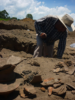 salvamento arqueologico; LibramientoPoniente sector G1